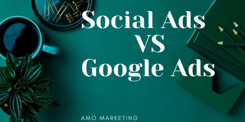 Google ads, facebook & instagram ads